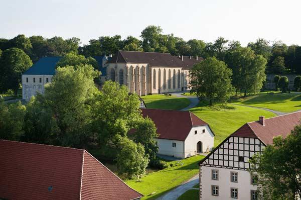 Einladendes Klostergelände